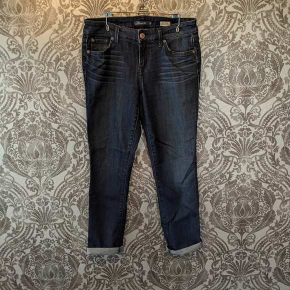 Level 99 Denim - Level 99 Lily skinny crop denim jeans